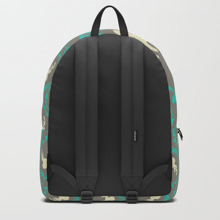 Oh Deer (white) Backpack