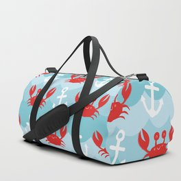Anchor's Away Crab Duffle Bag