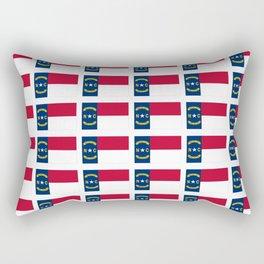 flag of  north carolina 2- south,america,usa,Old North State,Tar Heel,North Carolinian,Charlotte Rectangular Pillow