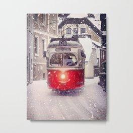Tram Salzburg Metal Print