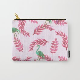 Flamingo rose Carry-All Pouch