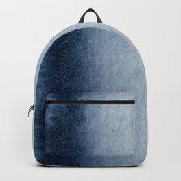 Indigo Vertical Blur Abstract Backpack