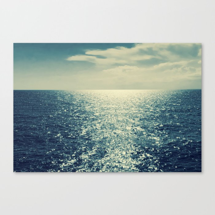 Sea horizon 2 Canvas Print