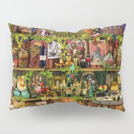 The Poetry of Wine Pillow Sham