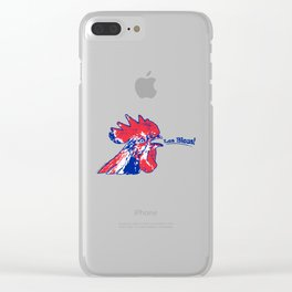 France Les Blues (The Blues) ~Group C~ Clear iPhone Case