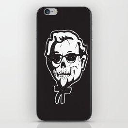 Skull Sanders iPhone Skin