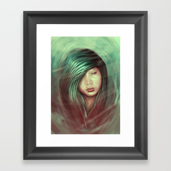 Deep Thoughts Framed Art Print