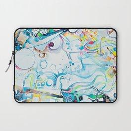 Fibroblasts - Watercolor Painting Laptop Sleeve