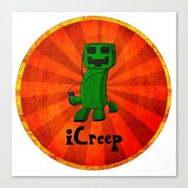 iCreep Canvas Print