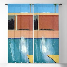 David Hockney exhibition Poster Print Blackout Curtain