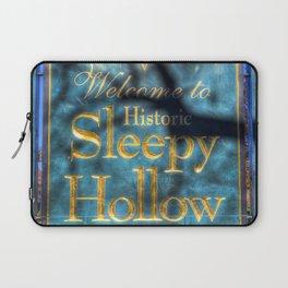 Sleepy Hollow Village Sign Laptop Sleeve
