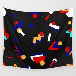 Memphis geometric pattern #2 Wall Tapestry