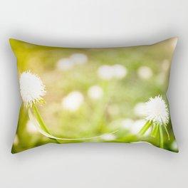 Dandelion Wishes Rectangular Pillow