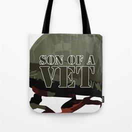 Son of a Veteran Tote Bag