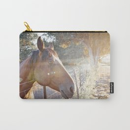 Horse Headsot Carry-All Pouch