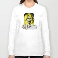 rupaul Long Sleeve T-shirts featuring Rupaul  by HeyBun