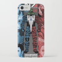 n7 iPhone & iPod Cases featuring N7: The Male Squad by Alex Rodway Illustration