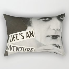 Life's an Adventure Rectangular Pillow