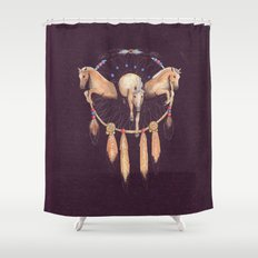 Wild Dreams Shower Curtain