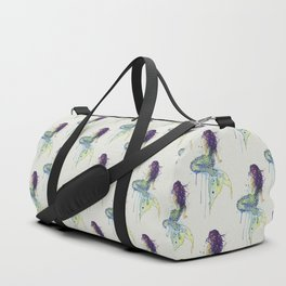Mermaid - Natural Duffle Bag