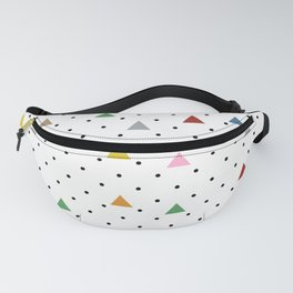 Pin Point Triangles Fanny Pack