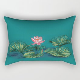 Lily Pad Rectangular Pillow