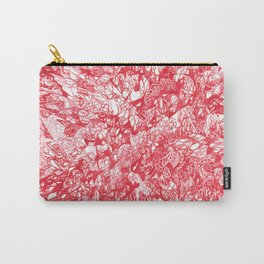 Red Study Carry-All Pouch