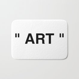 """ Art "" Bath Mat"