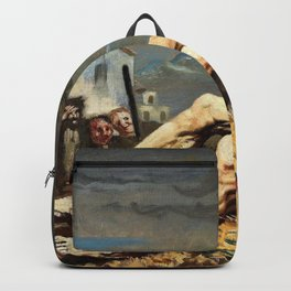 Job - Sir William Orpen Backpack
