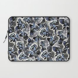 Floral Lettering. Laptop Sleeve