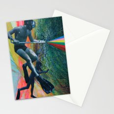 Cave Diver Stationery Cards