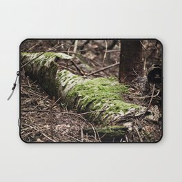 If a tree falls in the forest... Laptop Sleeve
