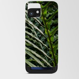 Forest Floor Frond iPhone Card Case