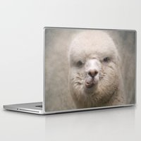 alpaca Laptop & iPad Skins featuring Alpaca! by Pauline Fowler ( Polly470 )