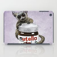nutella iPad Cases featuring Sweet aim // galago and nutella by Anna Shell
