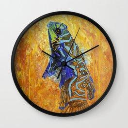 mandarin dragonet original Oil Painting Wall Clock