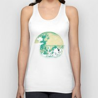 underwater Tank Tops featuring The Big One by Jay Fleck