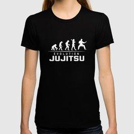 EVOLUTION OF JUJITSU T-shirt