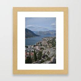 Kotor, Montenegro Framed Art Print