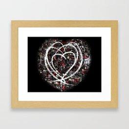 lovex4 Framed Art Print