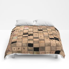 CROSSWORD LOVE Comforters