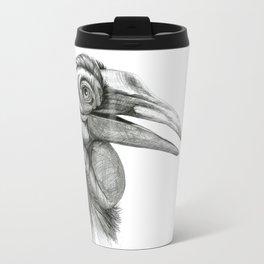 Southern Ground-hornbill SK044 Travel Mug