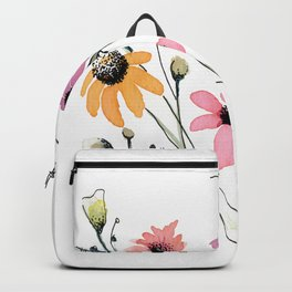 Colorful  Daizy Flower Backpack