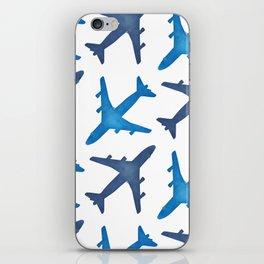Plane Pattern iPhone Skin