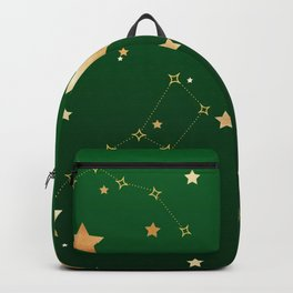 Galaxy of Stars Green Backpack