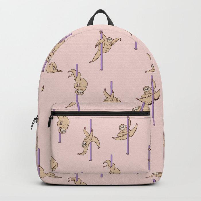 Sloths Pole Dancing Club Backpack