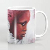 african Mugs featuring African  by Sebastian Wandl