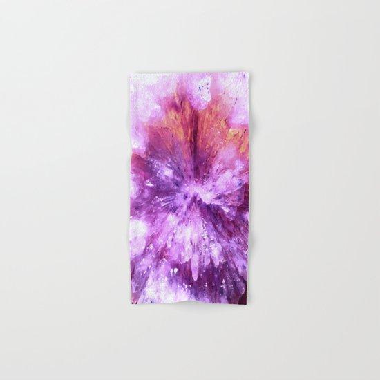 Flower Crystal Hand & Bath Towel