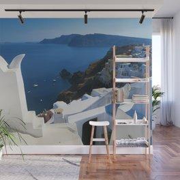 Oia Santorini c Wall Mural