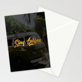 Stay Golden & Epic Stationery Cards